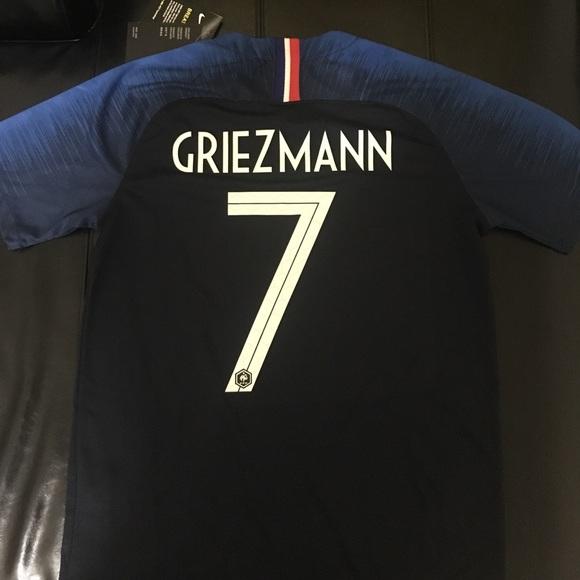 68a005c6e08 France 2018 World Cup Jersey Griezmann